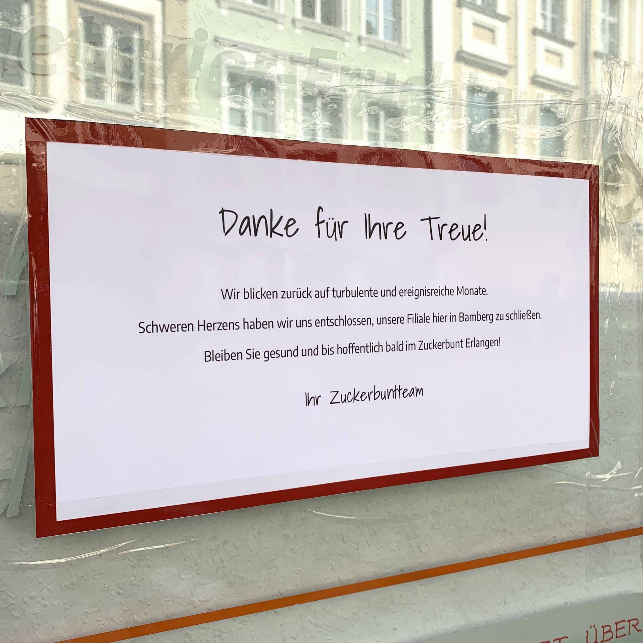 Bye bye Bamberg